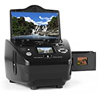 oneConcept Combo Slide Film Photo Scanner �?? SD XD �?? Idependent Computer-Scanning Solution �?? Image Processing Done in the Same Unit �?? 5.1 MP �?? 6cm Display Screen �?? User Friendly with a Clear Menu and Easy Functionality �?? Black