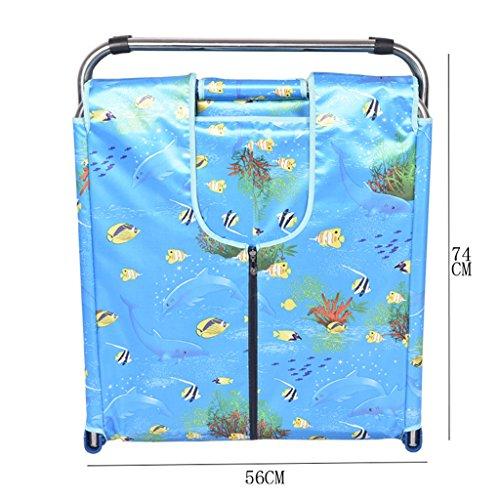 Faltende Badewanne JCOCO Faltbare Badewannen-Erwachsene Haushalts-Verdickung übergroße tragbare Isolierung haltbar einfach zu säubern Sekundärfalten (Farbe : 4) -