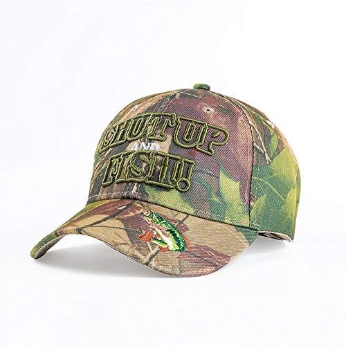SYQY Baseballmütze Frühling Sommer Herren Armee Tarnung Camo Cap Cadet Hut Baseball Cap Jagd Angeln Blank Desert Hat,C1 -