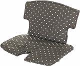 Geuther - Sitzkissen 4740 für Hochstuhl Syt, aus Stoff, mit Klettverschluß, Punkte grau