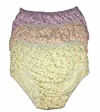 #9: EVES Rosy Shinker Cloth with outer elastic Cotton Panties Pack of 3