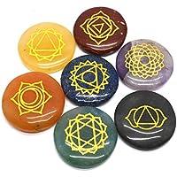 Heilung Kristalle 7Poliert, graviert Steine zum Balance Chakren Holistic Health Care Products preisvergleich bei billige-tabletten.eu