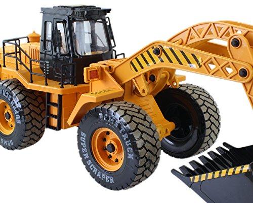 RC Baufahrzeug kaufen Baufahrzeug Bild 1: GYD Radlader RC Baufahrzeug, Bagger, 3 Kanal, Maßstab 1:18, mit Akku Spielzeug Spiel Trecker Bagger Ferngesteuert NEU*