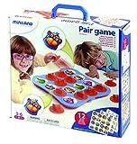 Miniland - Pair Game, primeros aprendizajes, 12 actividades (31920)