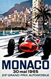 The Poster Corp Michael Turner - Monaco Grand Prix 1965