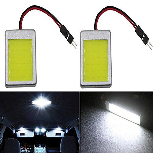 Preisvergleich Produktbild 24 Stück SMD T10 BA9S Auto Innenleuchte Dome Panel LED Soffittenlampe Adapter Weiß 12 V