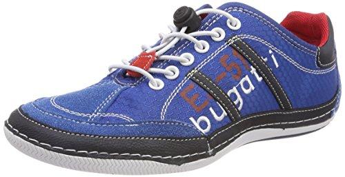 Bugatti 321480066900, Scarpe da Ginnastica Basse Uomo Blu (Blue)