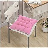 Set 4 cojines para sillas modelo LORELAI 40x40cm varios colores y acolchados - Rosa