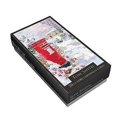 TOM Smith Box Luxus Slim 20Karten–Post Box