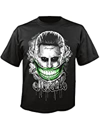 9a083e15ba7 Amazon.co.uk  Suicide Squad - Band T-Shirts   Music Fan Apparel ...