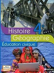 Histoire Géographie 4e : Programme 2011
