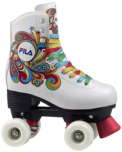 Fila Skates Bella, Pattini A Rotelle Donna, Bianco, 30