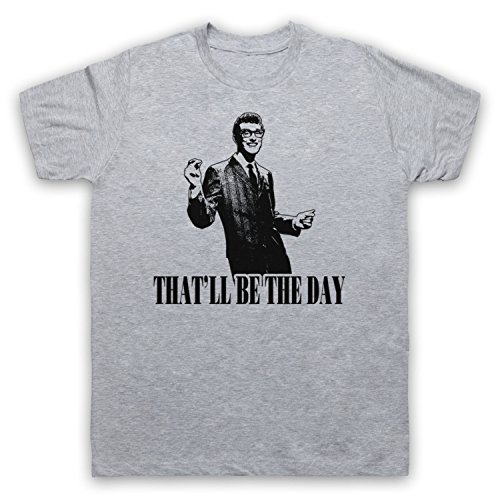 Inspired by Buddy Holly That'll Be The Day Unofficial Mens T-Shirt