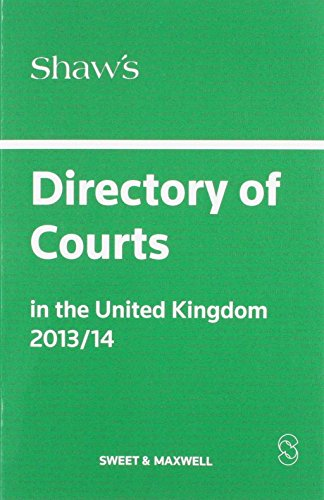 shaws-directory-of-courts-in-the-united-kingdom-2013-14