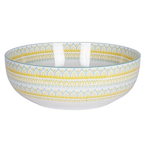 Saladier Mikado porcelaine 29 cm
