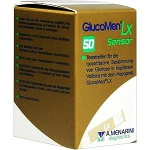 GLUCOMEN LX Sensor Teststreifen 50 St Teststreifen