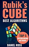 #9: Rubik's Cube Best Algorithms: Top 5 Speedcubing Methods, Finger Tricks included, A Beginner's Guide with Easy instructions