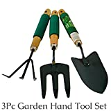 #6: Gardening tools Gardening Tools With Quality Grip Handle, 3 piece