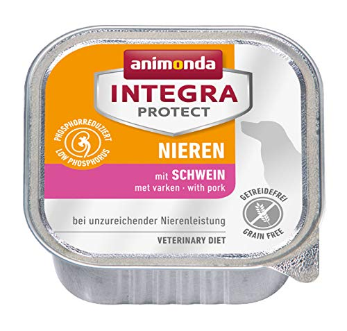 animonda Integra Protect Diät Hundefutter, Nassfutter bei chronischer Niereninsuffizienz,  mit Schwein, 11 x 150 g