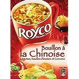 Royco Soupe Déshydratée Bouillon à La Chinoise Déshydratée 3 Sachets de 20 cl - 45 g