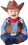 Deluxe Baby Jungen Wee Wrangler Cowboy Wilder Westen büchertag Halloween Charakter Kostüm Kleid Outfit - Multi, Multi, 12-18 Months