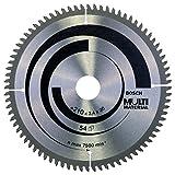 Bosch 2 608 640 445 - Hoja de sierra circular Multi Material - 210 x 30 x 2,5 mm, 80 (pack de 1)