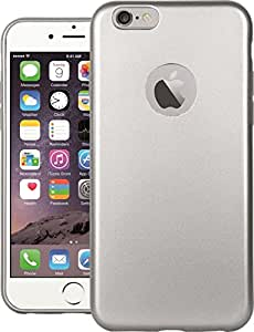 LEAF iPhone 6s Plus Case, Back Shell Heavy Duty Hybrid Drop Protection Shield Shock Absorption Back Case Cover For Apple iPhone 6s Plus - Silver