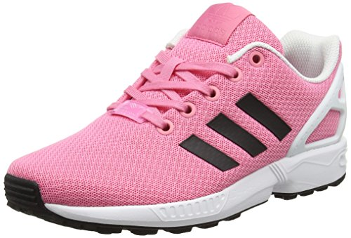 adidas Unisex-Kinder ZX Flux Sneaker Low Hals, (Easy Pink/core Black/FTWR White), 28 EU