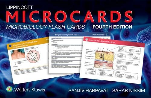 Lippincott Microcards: Microbiology Flash Cards por Sanjiv Harpavat