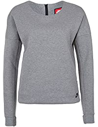Nike Tech Fleece Crew T-Shirt L, women's, Tech Fleece Crew