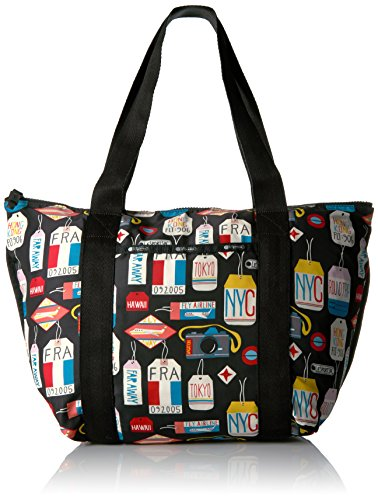 lesportsac-travel-on-the-go-tote-bag-boarding-pass-black