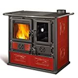La Nordica cocina estufa de La nordica rosa reverse Liberty 8.1 kW, Rojo