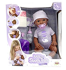 Splash Toys My Sweetie Baby 30906 - Figura Decorativa para bebé, Color Morado