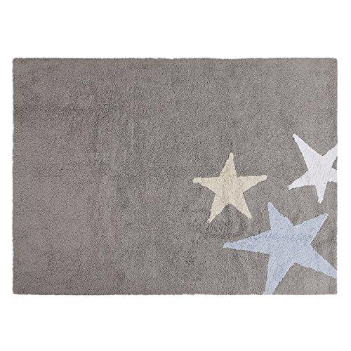 Lorena Canals C-TE-GA Dreifarbige Sterne, grau/blau
