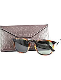 Gucci Keyhole Square Sunglasses in Light Havana Gold GG 1130/S QWR 51
