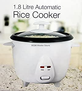 ELPINE 2.5 LITRE AUTOMATIC NON STICK RICE COOKER GLASS LID