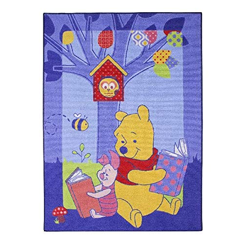 Associated Weavers Pooh SPIELTEPPICH 95X133 Story, Nylon, Mehrfarbig, 8x8x95,5 cm -