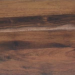 Klebefolie Perfect Fix® Eiche Rustikal Dekofolie Möbelfolie Tapeten selbstklebende Folie, PVC, ohne Phthalate, keine Luftblasen, Natur-Holzoptik braun, 45cm x 2m, Stärke: 0,15 mm, Venilia 53335
