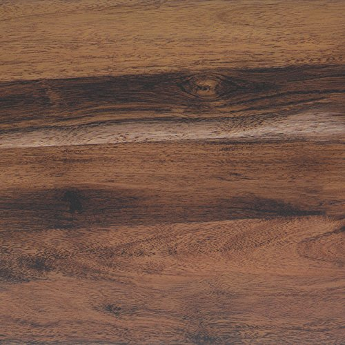 Klebefolie PERFECT FIX® EICHERUSTIKAL Dekofolie Möbelfolie Tapeten selbstklebende Folie, PVC, Natur-Holzoptik braun, 45cm x 2m, 150µm (Stärke: 0,15 mm), Venilia 53335