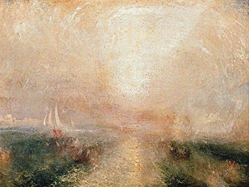 Leinwandbild (Canvas Prints) William Turner Yacht Approaching the Coast