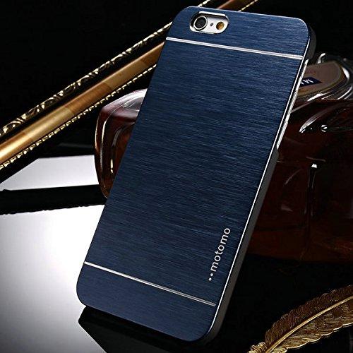 aridox (TM) Coque de Luxe en Aluminium Brossé Pour iPhone 6Plus 14cm Téléphone Accessoires Ultra Fine en métal brossé couverture arrière en plastique