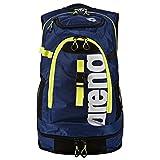 Arena Erwachsene Funktions Rucksack Fastpack 2.1 für Schwimmer Funktionsrucksack, Royal/Fluo Yellow, 40 x 35 x 55 cm, 45 Liter -