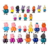 peppa pig and her friends complete set with beautiful bag