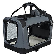 EUGAD faltbar Hundetransportbox Auto für