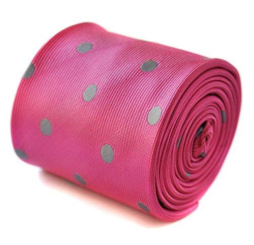 thomas-frederick-kissen-pink-und-grau-mit-weissen-punkten-mit-blumenmuster-mit-signatur-auf-der-ruck