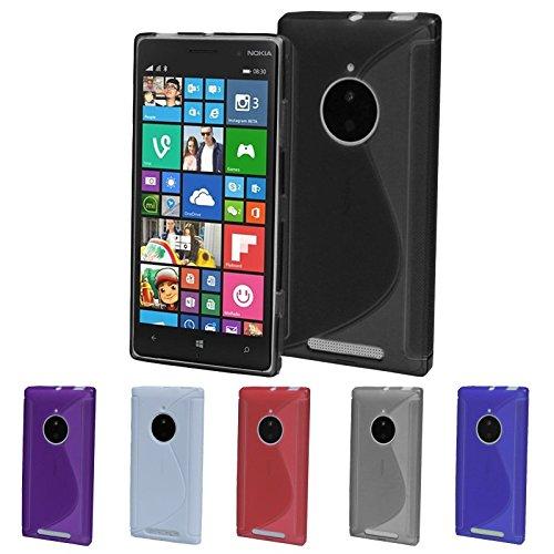 Schutz Hülle Tasche für Smartphone Case TPU Cover Handy Silikon Handyschutz Etui, Farben:Rot;Für Handy Modell:Apple iPhone 6 Plus (5.5) Lila