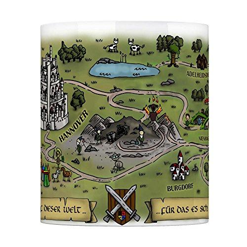 Nienhagen bei Celle Fantasy Kaffeebecher - eine Tasse als Geschenk zum Geburtstag für alle die Rollenspiele lieben! - 5
