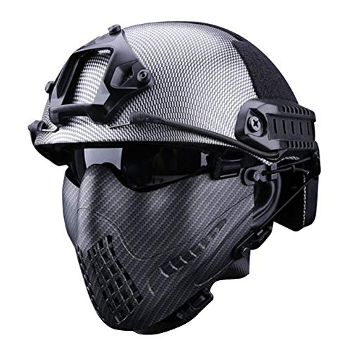 Cherishly Máscara táctica Militar Ajustable - Sistema