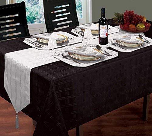 Schwarz Tischdecke 60