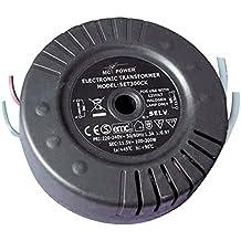 Transformador electrónico para halógenos (230V 11,5V, 100–300W